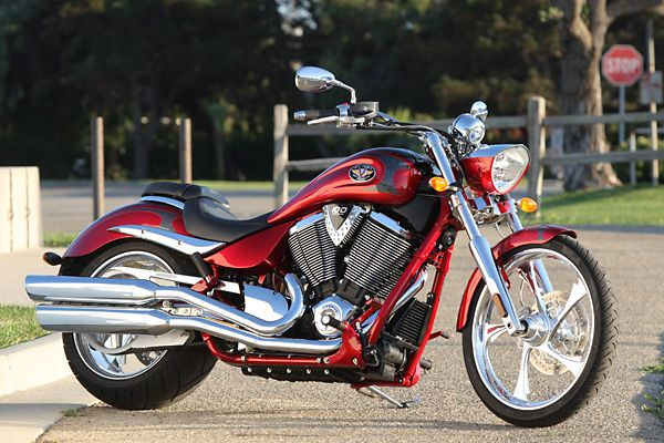 Our 4th Victory Motorcycle - Jud has a 1998 Custom Cruiser. It was the 69th Victory built! He loves it but I can't ride on this one.....back seat not very comfortable when you're used to arm rests & a comfy back rest!