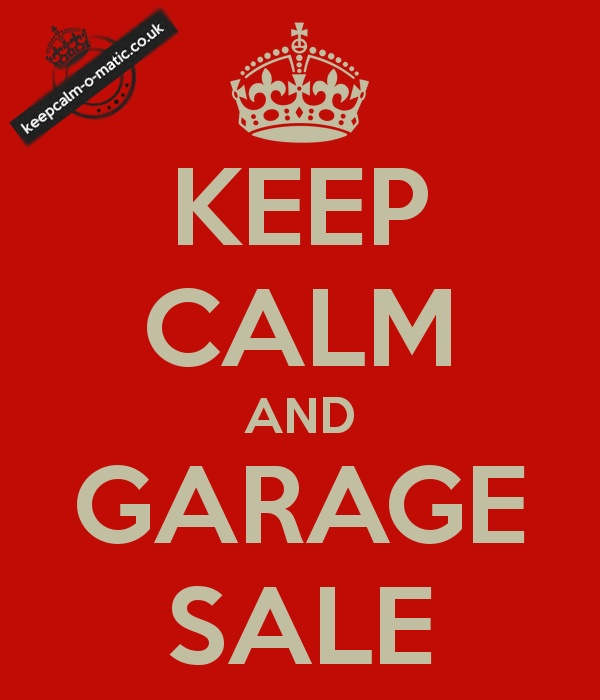 I Love That It 39 S Now Rummage Sale Season Keep Calm And