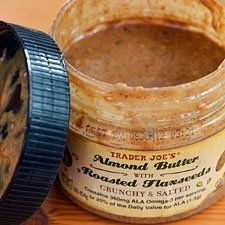 Almond Butter with Roasted Flax Seeds from Trader Joe's    Daily Find