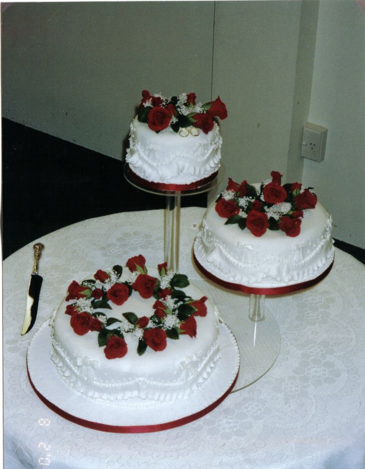 Wedding Cake Decorations Nz : 33 best images about Our Wedding Cakes on Pinterest