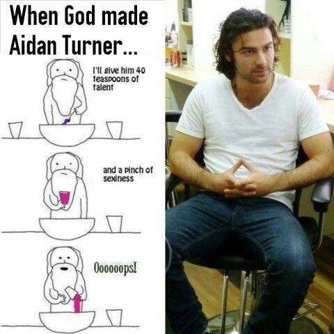 Beautiful Aidan Turner ♡♡♡♡♡