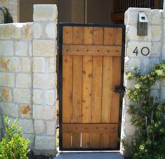 1000 Ideas About Wooden Gates On Pinterest Driveways