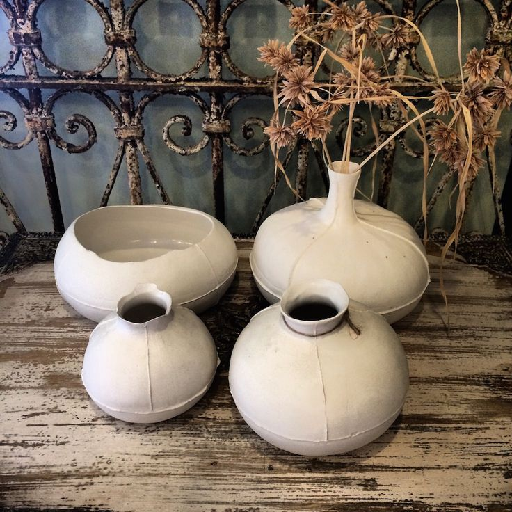 "A few pieces from our Le Forge ""Blanc Porcelain"" range group a few together for visual impact. From Le Forge Furniture And Decoration in Sydney. We shop Australia and woroldwide."