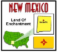 New Mexico State Unit Study - Geography, State Symbols & Facts