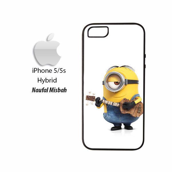 Playing Guitar Stuart Minion iPhone 5/5s HYBRID Case