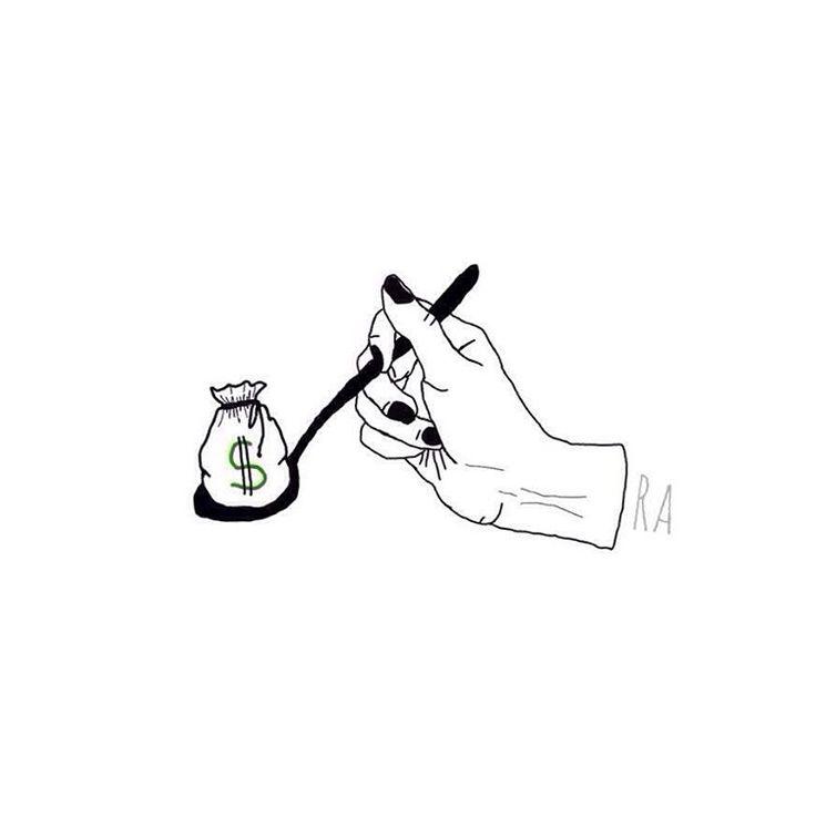 "17 Likes, 2 Comments - Mau Apa? (@raniardhan) on Instagram: ""Bribery""   #illustration #bootleg #tattoo #tattoos #design #bribe #bribery"