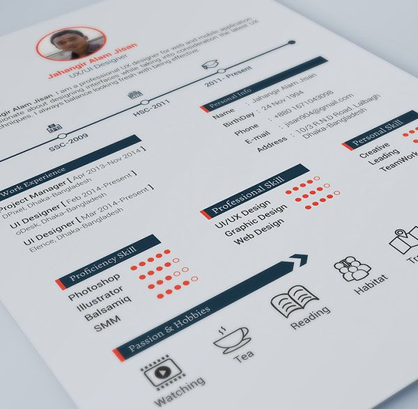 296 best #Resume images on Pinterest Resume design, Creative - free graphic resume templates