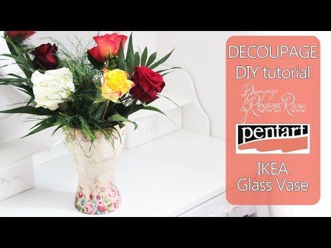 Видеозапись декор икеевской вазы