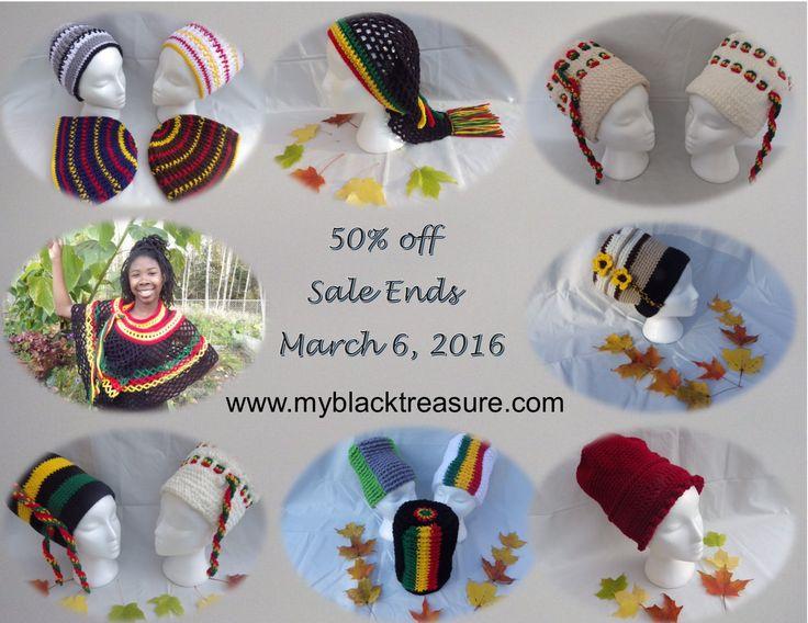 50% off - Sale Ends March 6, 2016  www.myblacktreasure.com/home/shop