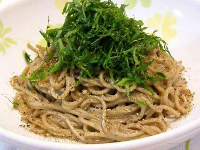 お蕎麦を使って♪超簡単で美味しい!和風パスタの画像