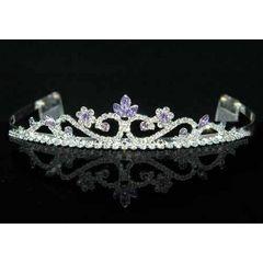 Purple Lavender Crystal Rhinestone Tiara for R245.00