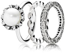 Get ready for white season parties #PANDORAring #pearl