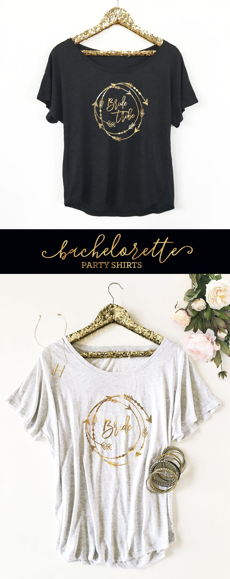 The perfect gift for your favorite women! | Bachelorette Party Shirts | Bride Tribe Shirts | Bride To Be Shirt | Bachelorette Party Weekend | Gold Bachelorette Party Ideas