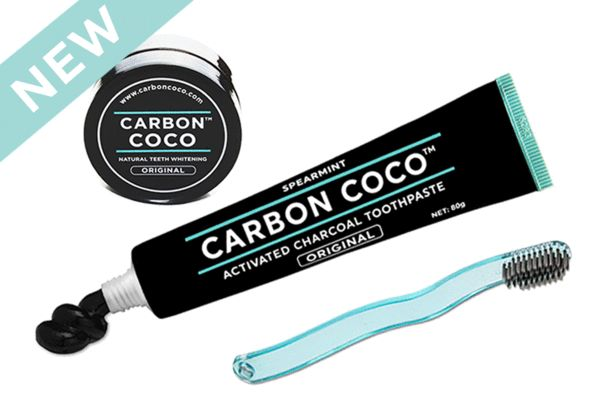 Ultimate Carbon Kit: Natural whitening toothpaste