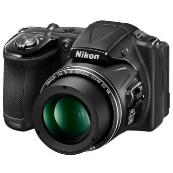 Aparat foto digital Nikon COOLPIX L830, 16MP, Black - eMAG.ro