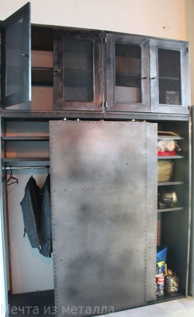 Купить металлический шкаф