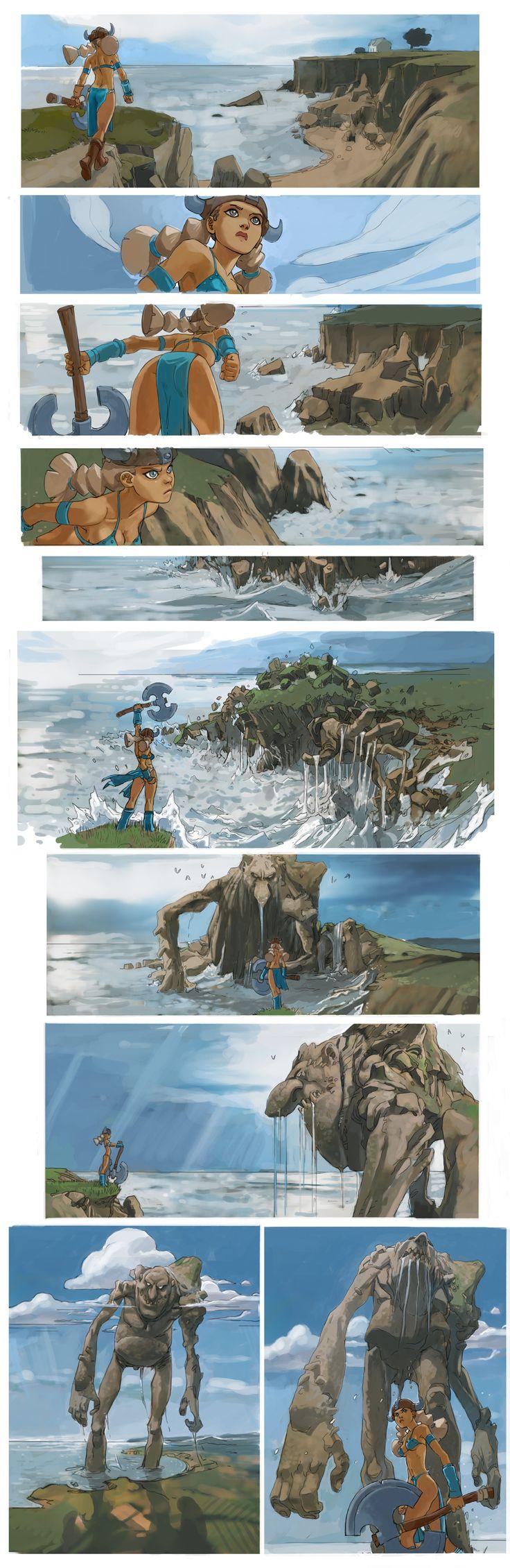 troll and viking by joel27.deviantart.com on @deviantART