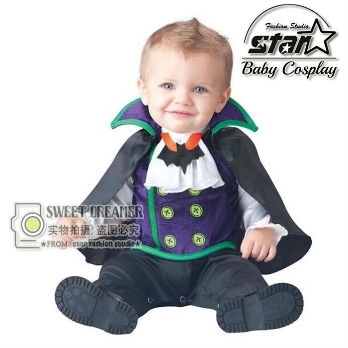 (31.50$)  Watch here - http://aic7o.worlditems.win/all/product.php?id=32717712119 - Newborn Baby Halloween Vampire Cosplay Jumsuit Toddler Boys Girls Funny Cute Clothes Set Kids Photography Props Birthday Gift