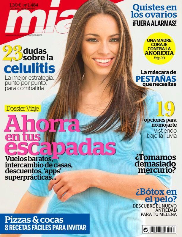 Revista MÍA 1484, #marzo 2015. ¡Ahorra en tus #escapadas! ¿#Bótox en el #pelo? 19 opciones para #vestir bajo la lluvia. #SemanaSanta.