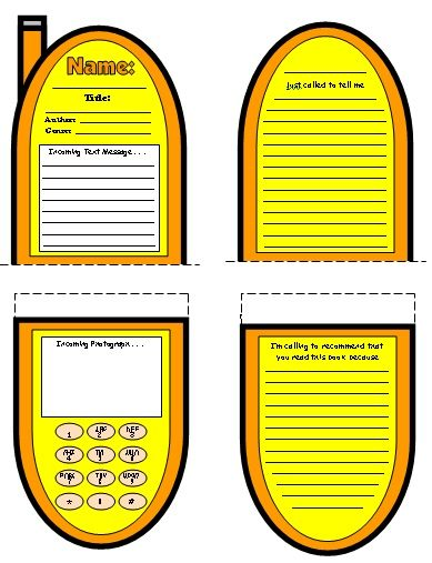 Best Fun Book Report Projects And Templates Images On