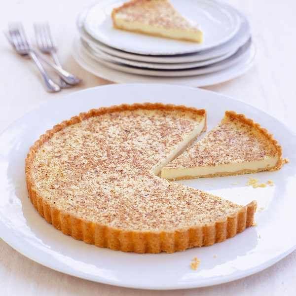 John Torode's custard tart