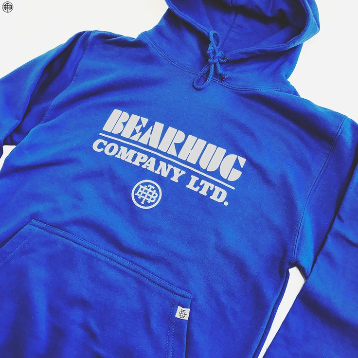 The new Block Logo - Royal Blue Hoodie. Front & Back print.