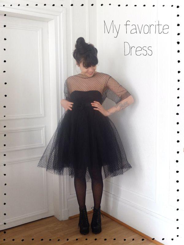 DIY Robe noire