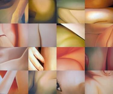 "Saatchi Art Artist Utin Rini; Painting, ""On Sensuality"" #art"