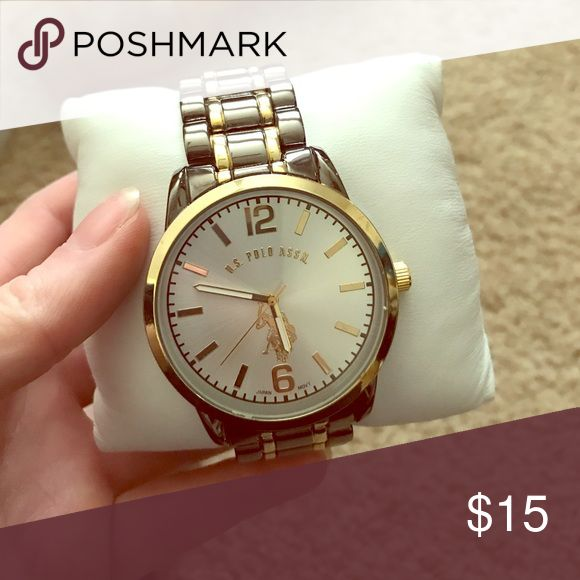U.S. Polo Watch Watch with Silver and Gold tones U.S. Polo Assn. Accessories Watches
