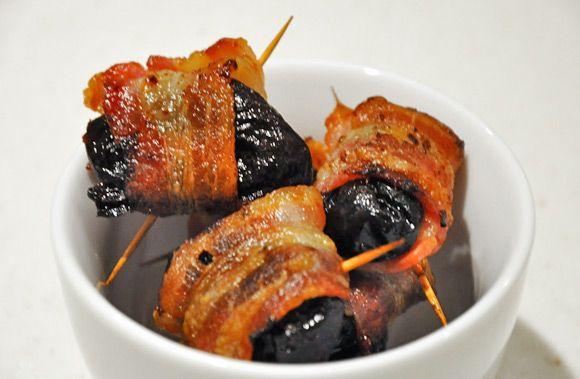 Dadler med bacon | Millas Mat