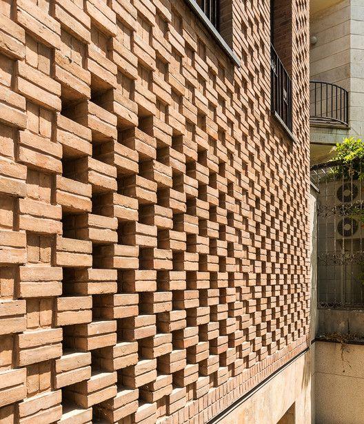 35 best transparent masonry    spaced bricks images on pinterest