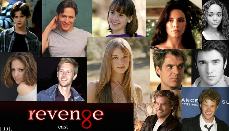 Revenge Cast in the past.  Connor Paolo, Nick Wechsler, Christa B. Allen, Madeleine Stowe, Ashley Madekwe, Margarita Levieva, Gabriel Mann, Emily VanCamp, Henry Czerny, Joshua Bowman, James Tupper, Ashton Holmes