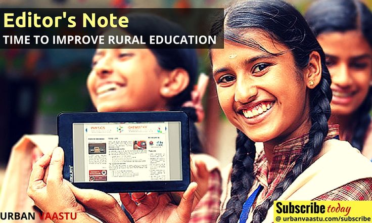 Time To Improve #Rural #Education