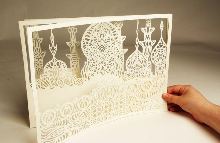 Paper cutting by Meni Chatzipanagiotou | OVALME