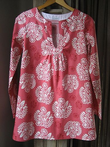 Amy Butler beach top by Townmouse, via Flickr