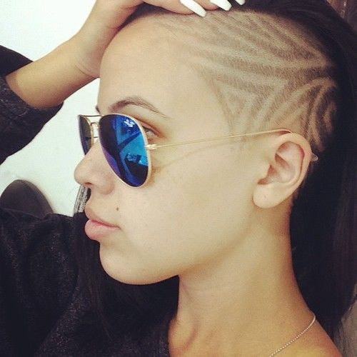 25 best ideas about side shave design on pinterest for Shave before tattoo