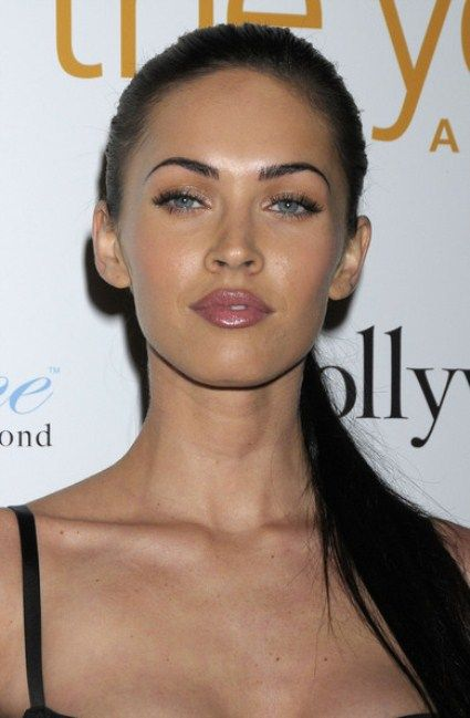 megan fox, love her eyebrows!