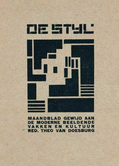 De Stijl (1917 - 1931) en Spinoza - BdSpinoza