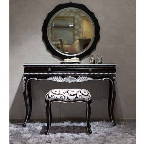 10 Stunning black vanity sets for bedrooms Picture Inspirations