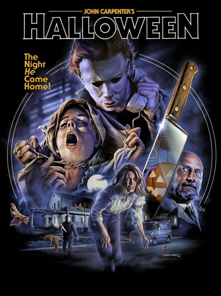 Halloween (1978) Retro horror, Horror posters