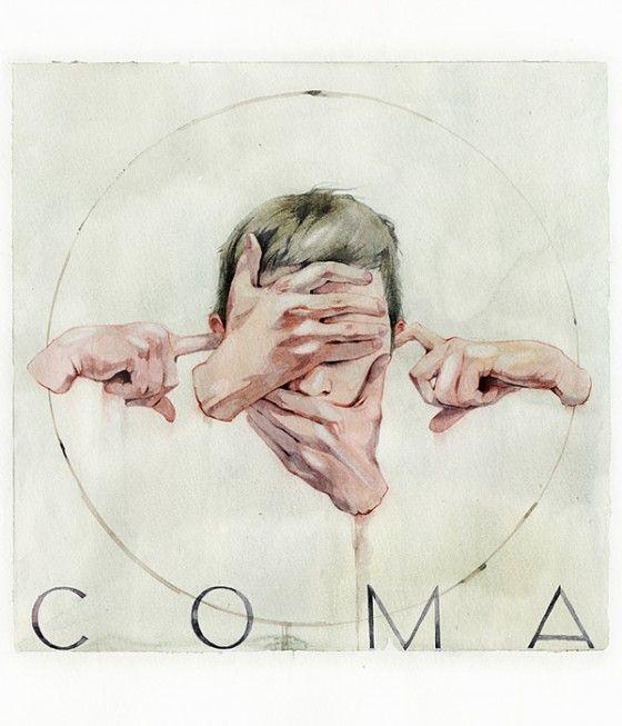 Dima Rebus - Inquietanti illustrazioni ad acquerello