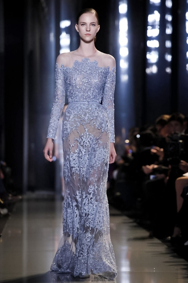 Elie Saab @ Paris Haute Couture S/S 2013