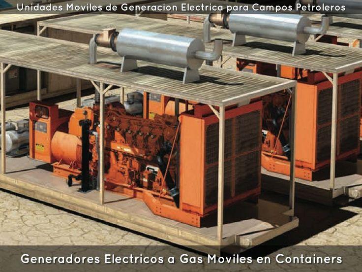 Generadores electricos a gas grupos electrogenos a gas - Generador de gas ...