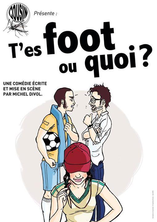 T'es foot ou quoi ? Le Quai du Rire a le  plaisir d'accueillir pour 6 représentations l'excellent spectacle de Michel DIVOL «T'ES FOOT OU QUOI ?», une comédie à destination des «footeux»… comme des allergiques ! Du Jeudi 23 au Samedi 25 Février... https://www.unidivers.fr/rennes/tes-foot-ou-quoi/ https://www.unidivers.fr/wp-content/uploads/2017/02/facebook_event_1710800652583899.jpg