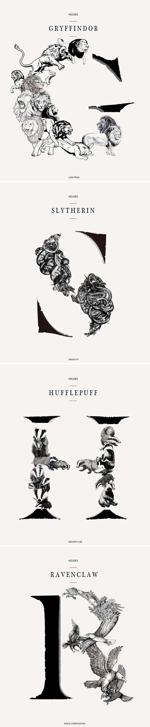 Houses Harry Potter
