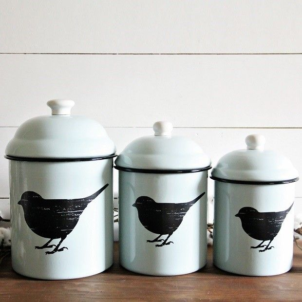Farmhouse Kitchen Canister Sets: 1000+ Ideas About Canisters On Pinterest