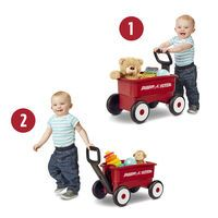 Radio Flyer My 1st 2 in 1 Wagon - Red