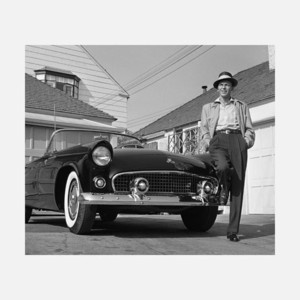 Frank Sinatra And T-bird 17x11, $29, now featured on Fab.