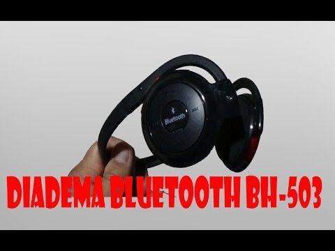 Diadema Bluetooth BH-503 unboxing español - YouTube