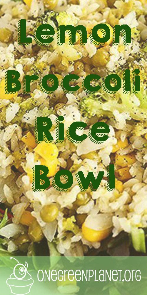 Lemon Broccoli Rice Bowl [Vegan] @tworaspberries http://www.onegreenplanet.org/vegan-recipe/lemon-broccoli-rice-bowl-vegan